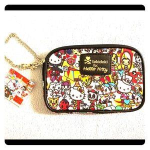 New Tokidoki x Hello Kitty Wristlet